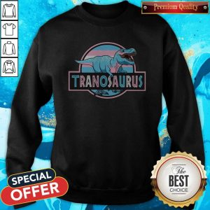 Awesome LGBT Tranosaurus Sweatshirt