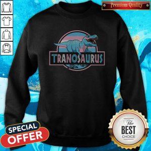 Awesome LGBT Tranosaurus Sweatshirt