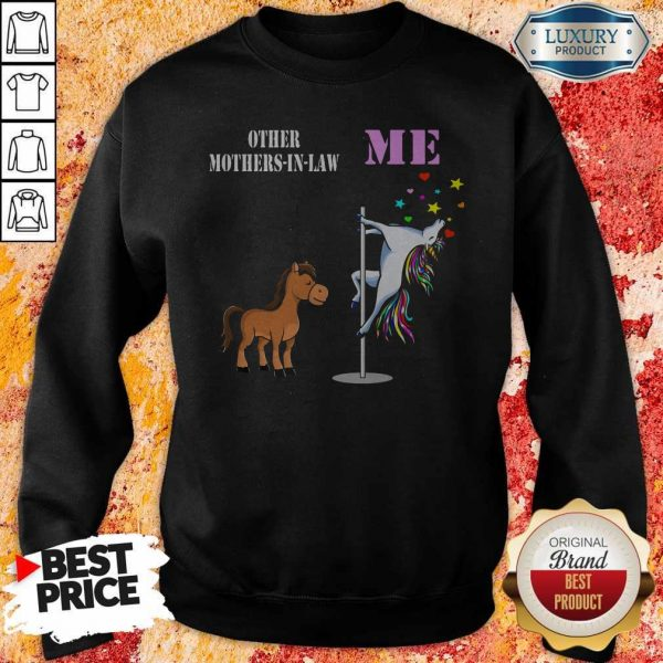 Awesome Unicorn Me Horses Other Mother-in-law Sweatshirt
