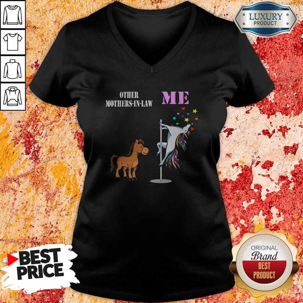 Awesome Unicorn Me Horses Other Mother-in-law V-neck