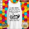 Cat A Wise Mom One Said And She Lived Happily Ever After Tank Top