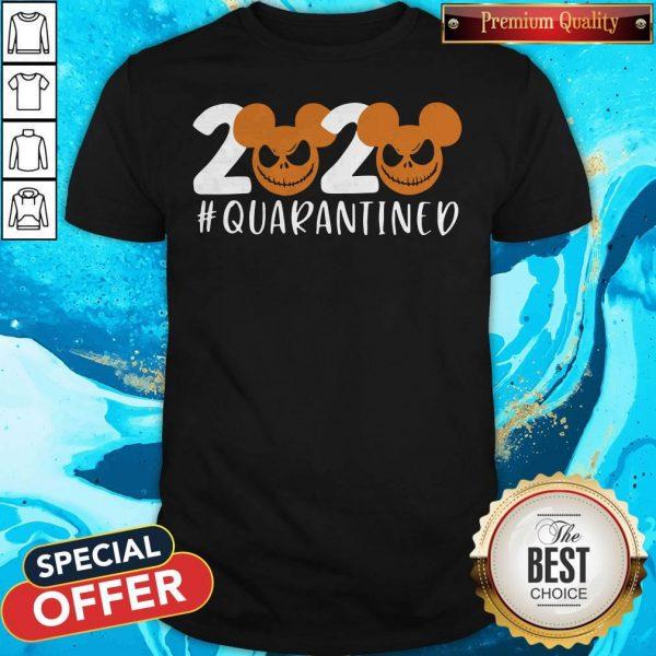 Halloween 2020 Jack Skellington Quarantined Shirt