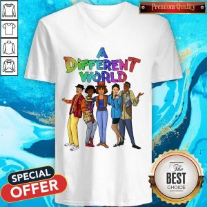 Original A Different World V-neck