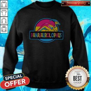 Premium LGBT Panasaurolophus Sweatshirt