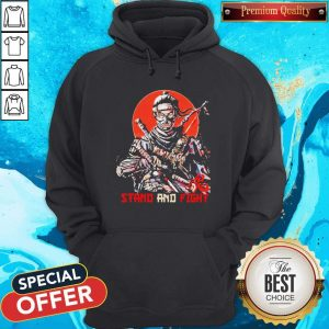 Ghost Of Tsushima Stand And Fight Hoodie