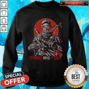 Ghost Of Tsushima Stand And Fight Sweatshirt