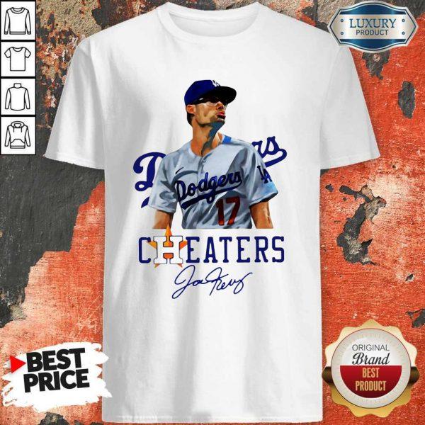 Joe Kelly Nice Swing Bitch Dodgers Cheaters Signature Shirt