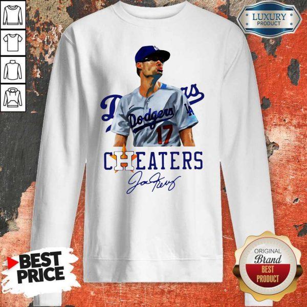 Joe Kelly Nice Swing Bitch Dodgers Cheaters Signature Sweatshirt