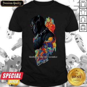 King T'Challa To Life In Black Panther Chadwick Boseman Shirt