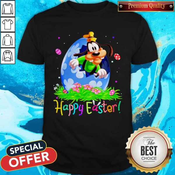 Nice Goofy Easter Egg Happy Easter Shirt