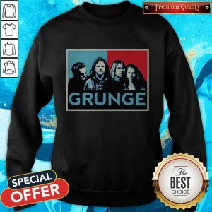 Nice Grunge Seattle Sound Quotes Sweatshirt