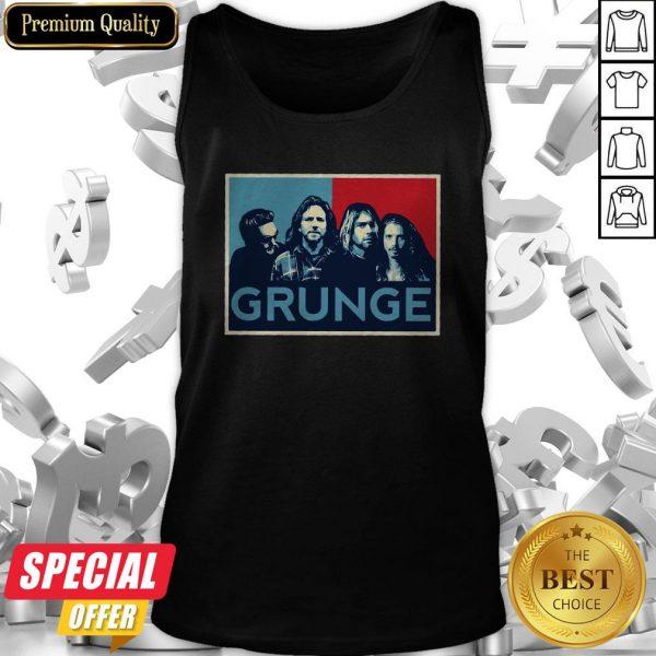 Nice Grunge Seattle Sound Tank Top