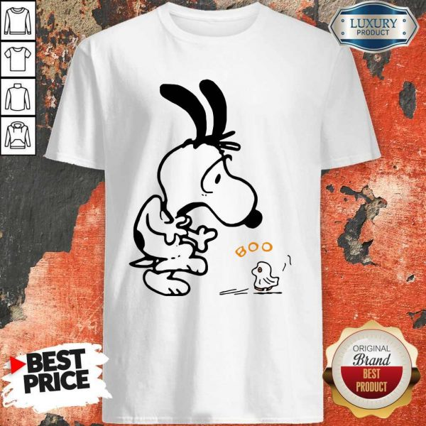 Nice Snoopy And Woodstock Boo Shirt