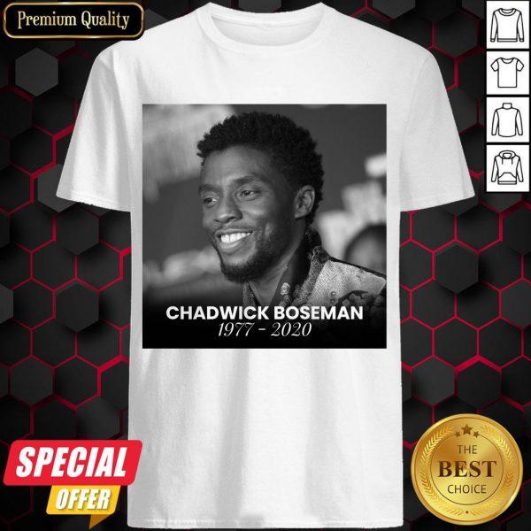 Official Rip Chadwick Boseman Shirt