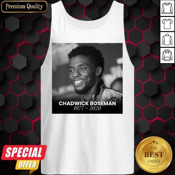 Official Rip Chadwick Boseman Tank Top
