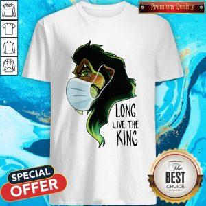 Scar Lion Face Mask Long Live The King Shirt