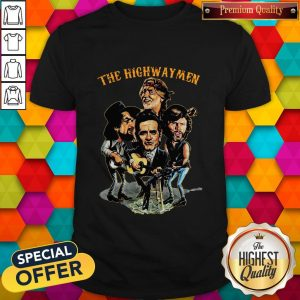 The Highwaymen Waylon, Willie, Cash, Kristofferson Shirt