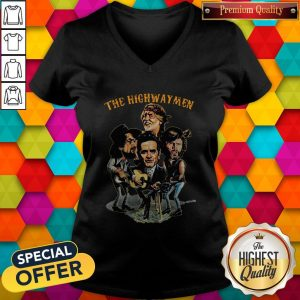The Highwaymen Waylon, Willie, Cash, Kristofferson V-neck