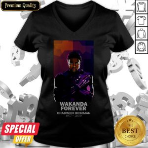 The King Of Wakanda Black Panther Had Dies 1977-2020 V-neck