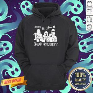 2020 Ghost The Year Of Boo Sheet Halloween Hoodie