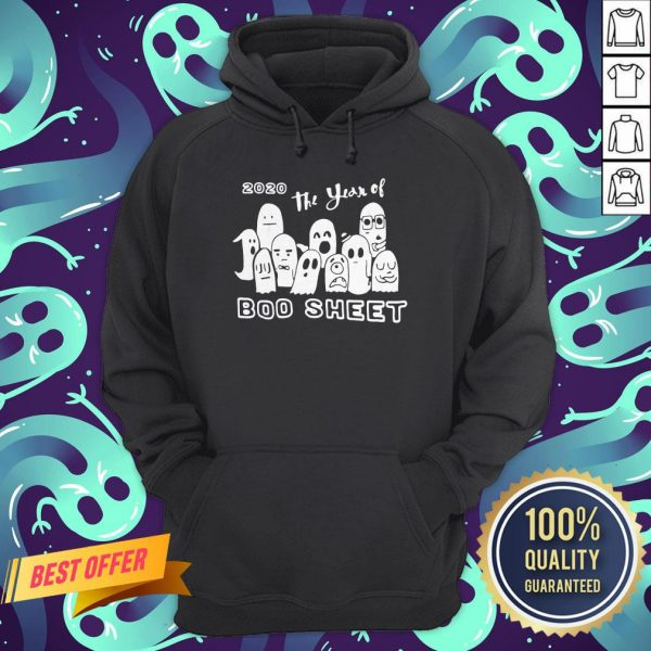 2020 Ghost The Year Of Boo Sheet Halloween Hoodie