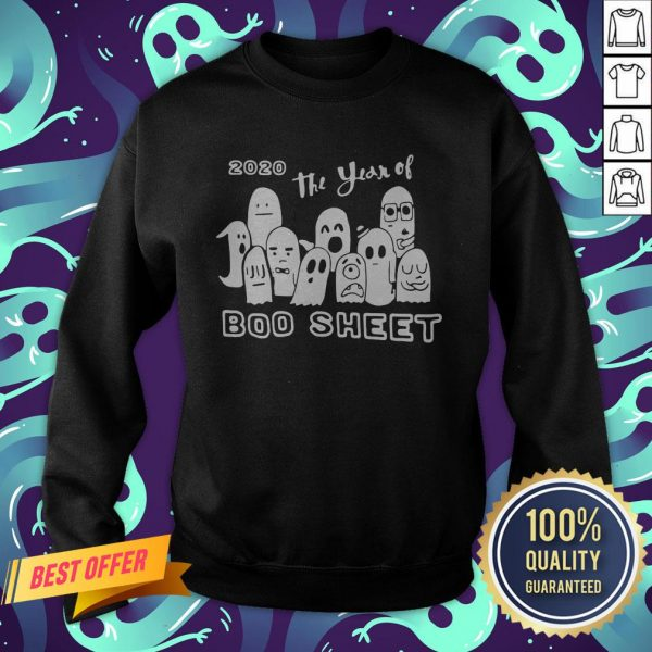 2020 Ghost The Year Of Boo Sheet Halloween Sweatshirt