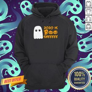 2020 Is Boo Sheet Funny Halloween Cute Spooky Ghost Hoodie