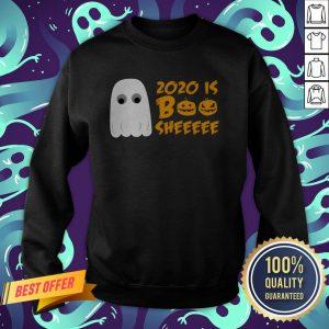 2020 Is Boo Sheet Funny Halloween Cute Spooky Ghost Sweatshirt