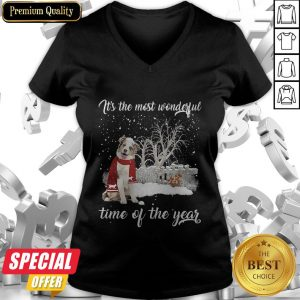Australian Shepherd It's The Most Wonderful Time Of The Year V-neck