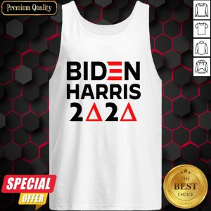 Biden Harris Delta Sigma Theta Sorority Voter 2020 Tank Top