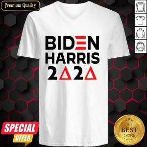 Biden Harris Delta Sigma Theta Sorority Voter 2020 V-neck