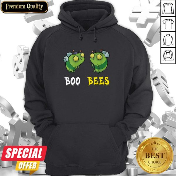 Boo Bees Couples Halloween Costume Funny Hoodie