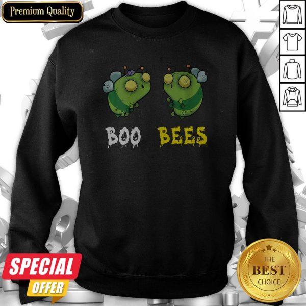 Boo Bees Couples Halloween Costume Funny Sweatshirt