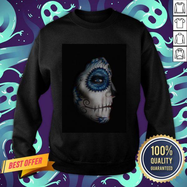 Dia Des Los Muertos Sugar Skulls Sweatshirt