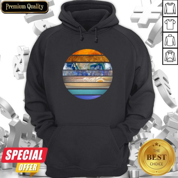 Funny Solar System Hoodie