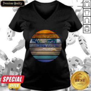 Funny Solar System V-neck