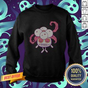 Gloom Pokemon Sugar Skulls Dia De Muertos Day Dead Sweatshirt