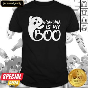 Grandma Is My Boo Halloween Shirt