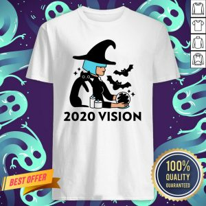 Halloween Day 2020 Vision Witch Quarantine Shirt