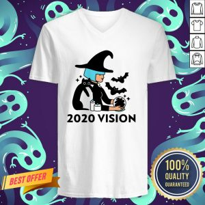 Halloween Day 2020 Vision Witch Quarantine V-neck
