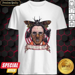 Halloween Horror Silence Lambs Quid Pro Quo Shirt