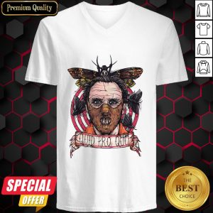 Halloween Horror Silence Lambs Quid Pro Quo V-neck