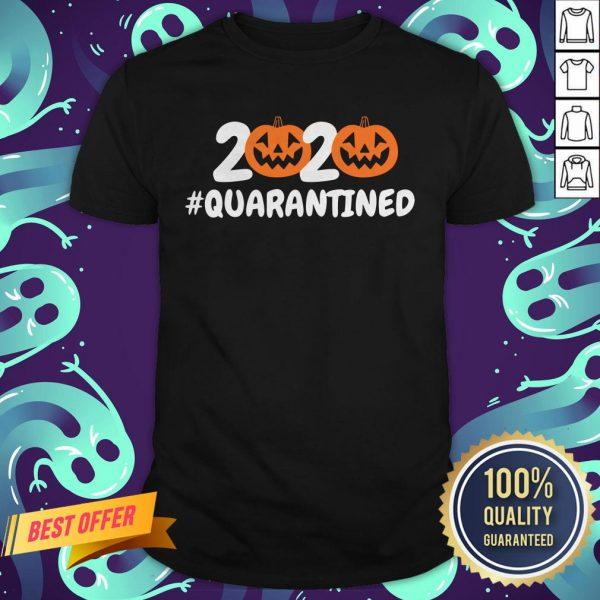 Halloween Pumpkins 2020 Quarantined Shirt