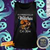 In A World Full Of Witches Be A Cat Mom Halloween Tank Top
