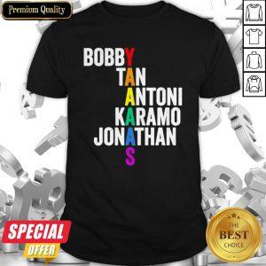 LGBT Queer Eye Bobby Tan Antoni Karamo Jonathan Yaaaas Shirt