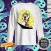 Sugar Skull Girl Movie Star Dia De Muertos Day Of The Dead Sweatshirt