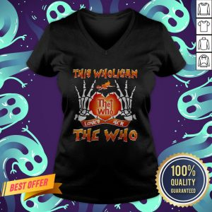 This Wholigan The Who Loves Her The Who Halloween V-neck