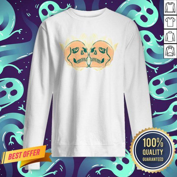 Vintage Sugar Skulls Dia De Los Muertos Day Of Dead Sweatshirt