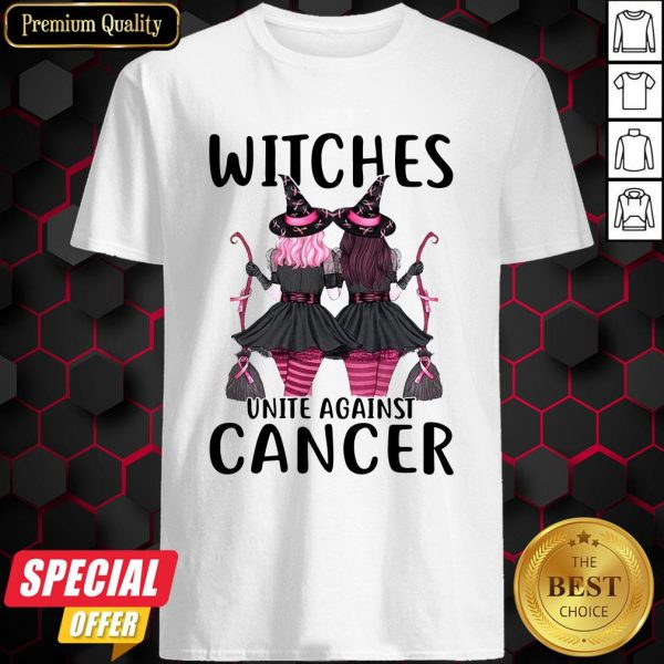 Witchcraft Witches Unite Against Cancer Shirt