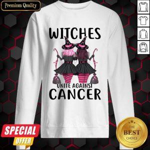 Witchcraft Witches Unite Against Cancer Sweatshirt